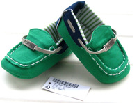 2014 British Style Baby First Walkers Shoe Infants Newborn Shoes Fashion Soft Toddler Baby Shoes For Boys Kid's Shoes Girl Green