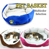 Free shipping New cat dog kennel pet house warm sponge bed cushion basket #WU218