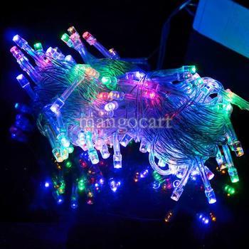 10M 100 светодиодных Красочные огни Декоративные свет строк на Рождество партии фестиваль гирляндой высокого качества TK0200