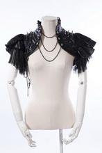 new 2014 Stunning gothic Lace Shrug Feather Bolero 21142(China (Mainland))