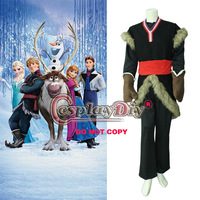 New Arrival Frozen Kristoff Costume Outfit Movie Cosplay Costume