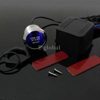 Universal LED Illumination Auto  Car Keyless Engine Starter Ignition Push Start Button Switch With Retail Box SV001478 b011