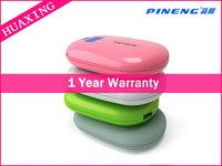 Best Quality ! Original Pineng Power Bank PN-929 15000mAh Dual USB External Battery Pack Mobile Power For Phones Tablet PC/Gold