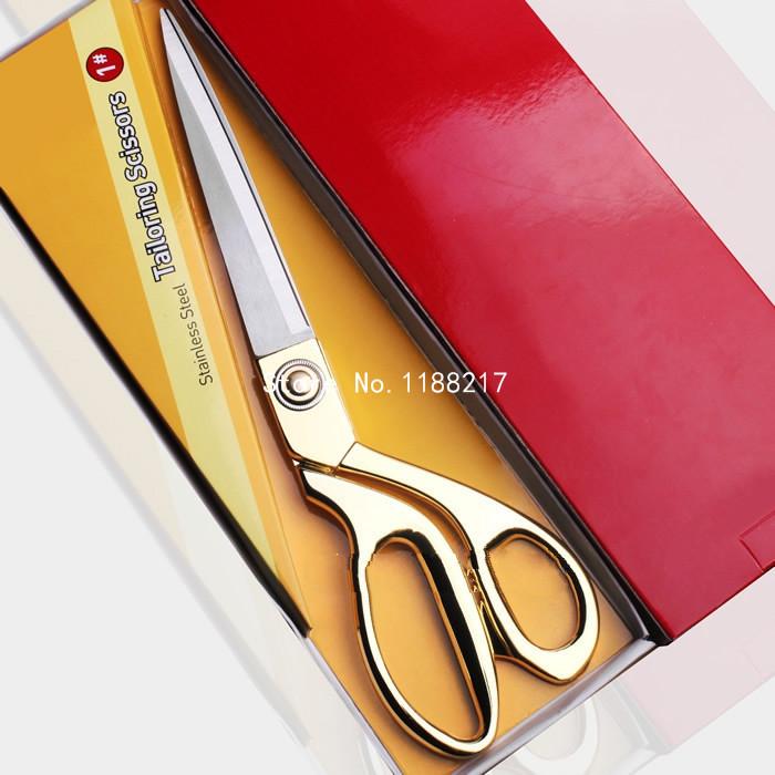 Roestvrij staal kleding naaien schaar geen elektrische stof kleermaker schaar voor stof de - Dressoir roestvrij tailor ...