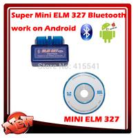 super mini elm327 bluetooth OBD2 Scanner ELM 327 Bluetooth Smart Car Diagnostic Interface ELM 327 V2.1 Scan