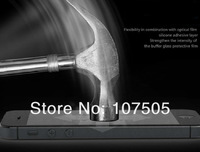 For iphone 5 Premium Tempered Glass Screen Protector Protective Film For iPhone 5 5S 5C screen film without retail package