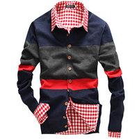 Hot Sale! new fashion men's cardigan sweater High quality V-neck sweater autumn Spring cardigan Stylish knitwear Asia S-XXL D219
