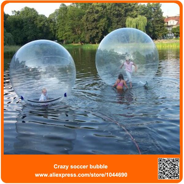 Inflable del agua caminando pelota, al aire libre los niños juegos de agua, rodilloinflable del agua bola, agua de blobos