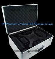 Hot DJI Phantom 2 Vision Aluminum Case EVA Hard Box For Protect Professional Quadcopter DJI Aerial FPV HM Four Rotor