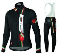 2014 SIDI Cycling Jersey bicicleta Long sleeve and bicycle bib Pants  / ropa ciclismo clothing maillot