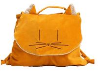 Kids backpack fashion cute cartoon animal children school bag handiwork cotton travel bag spring 2014B158