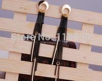 EE0877 Tassel Gold Earrings Layers Drop Dangle Earrings For Women Long Chain Earrings Fashion Jewelry Gift
