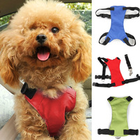Green / Blue / Red Car Vehicle Auto Seat Safety Belt Seatbelt for Dog Pet With S M L Size