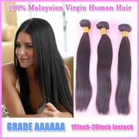 PRIDA HAIR Virgin Malaysian Hair Straight weaves,Cheap unprocessed 3 bundles Malaysian Human Hair Extension 8-32inch wholesale