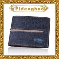 New arrival designer men wallets patchwork leather billfold card holder fashion purses for gentlement P833-1#