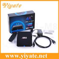 M8 Amlogic S802 Quad Core Android TV Box 2G/8G Mali450 GPU 4K XBMC Bluetooth 2.4G/5G Dual WiFi HD Mini PC