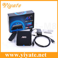 YIYATE M8 Amlogic S802 Quad Core Android TV Box 2G/8G Mali450 GPU 4K XBMC Bluetooth 2.4G/5G Dual WiFi Bluetooth H265 hdd Player
