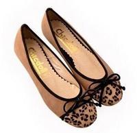new 2014 fashion women flats soft bottom leopard casual single shoes female ballet shoes woman flat brand shoes size 35-43
