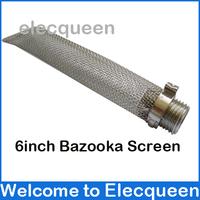 "6inch Stainless Bazooka Screen Homebrew beer Kettle Screen 1/2""NPT fitting"