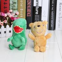 "2pcs Peppa Pig Plush Doll Stuffed Toy Peppa Bear& GEROGE Dinosaur 6.5"""