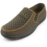 Men cotton shoes men's breathable casual slip on shoes men low heel cloth shoes