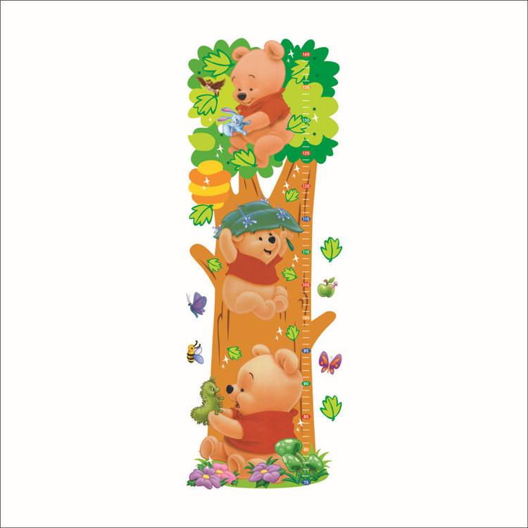 Kinderzimmer Tapeten Winnie Pooh : tierkarikatur winnie pooh vinyl wandtattoos f?r Kinderzimmer jungen