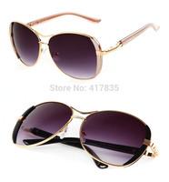 2014  UV Brand sunglasses fashion LADY sunglasses aviator Designer High Quality Vintage Retro Glasses women sunglasses