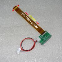 N070ICG TM070JDHP01 39pin 0.3mm FPC LVDS adapter converter board SV070ICG SV070WX4-D39