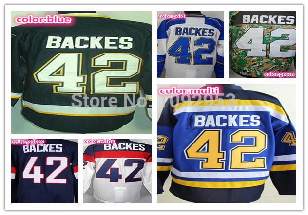 Cheap Men's St. Louis Blues #42 David Backes Jersey Dark Blue Third White Camo Stitched Best Quality Backes Ice Hockey Jerseys(China (Mainland))