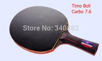 original TIMO BOLL timoboll rackets table tennis rackets nano-v7.6 German Quality ping pong racket FL/CS grip