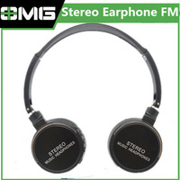 2014 New model,High quality Stereo Music Headphone with FM,2014 New Sport headset Mp3 player, computer mp3,microSD card slot,
