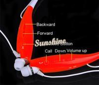 HBS 730 Wireless Sport Bluetooth Stereo Headset Neckband Earphone Headphones for Cellphones iPhone LG Samsung HTC SV000706 B002