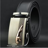 2014 brand belt Men/man Classic eco-friendly automatic buckle strap genuine leather belt fashion brief male belt 2013