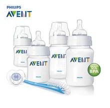 Marca 100% Original AVENT bebê Alimentação / Leite / mamadeira / Mamadeira 4 oz / 9 oz recém-nascido Starter Set(China (Mainland))
