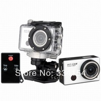 Copy go pro Sport Camera With WIFI Support Control By Phone Tablet PC 1080P Full HD 30 meters waterproof DVR G5500