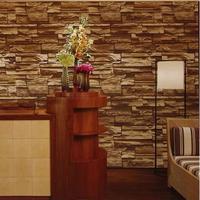 Vintage 3d wallpaper modern design dining room pvc wallpaper background wall wallpaper brick wall for living room WP208