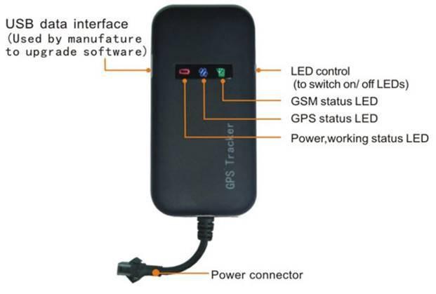 GPS-трекер TED 100% 4 GPS GT02A Google