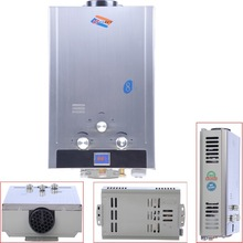 Natural Gas 8L Tankless Instant HOT Water Heater Boiler WITH Shower Head(China (Mainland))