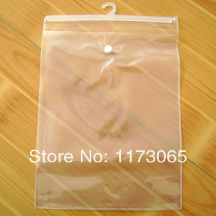 A4 cross stitch packaging bag hook bag box plastic pvc hook bag 22CM*30cm(China (Mainland))