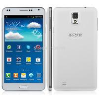 Original M-HORSE N9000W 5.5 Inch Smartphone Android 4.2 MTK6572W Cortex A7 dual core 1.3GHz 512M+4G Camera 5MP GPS 3G 2800mAh