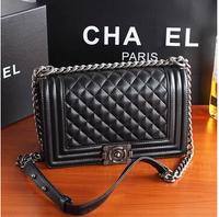 Ms. classic leather handbag Quilted handbag shoulder bag free shipping
