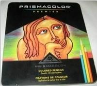 48 color comics / silty / crude core colored pencils