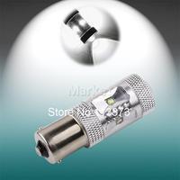 2pcs 1156 BA15S P21w 25W Cree XPE LED White car Fog Head Bulb auto Lamp Vehicles Turn Signal Tail Brake Lights car light source