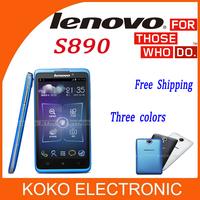 Original Lenovo S890 smart phone 5.0'' Android phone 4.1 Dual core phone MTK6577 3G 1G RAM/4G ROM Multi language
