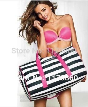 Новый женщины сумка почтальона сумочки полосатый дорожная сумка пляж холст сумка сумки на ремне женщины сумка пакеты большой бренд мешок