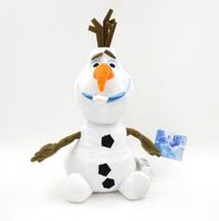 "2014 New Arrival Frozen toys 30cm Cartoon Movie Toys Frozen Olaf Snowman 12"" Plush Dolls brinquedos Stuffed Toy"