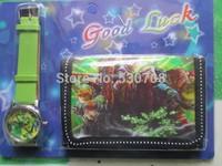 Free shipping frozen girl's cartoon wallet watches children Students Fashion Kids purse Watch Christmas gifts 1pcs/Lot