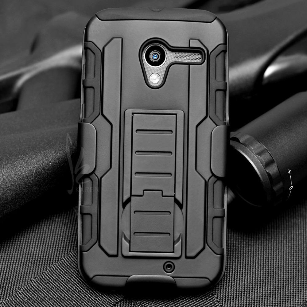For Motorola Moto X Phone XT1055 XT1058 XT1060 Future Armor Impact Skin Belt Clip Holster Protector Swivel Case + Flim + Stylus(China (Mainland))