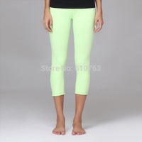 High Quality Breathable Ladies Supplex Gym wear, women yoga capri pants