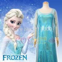 Frozen Coslay Costume Elsa's dress
